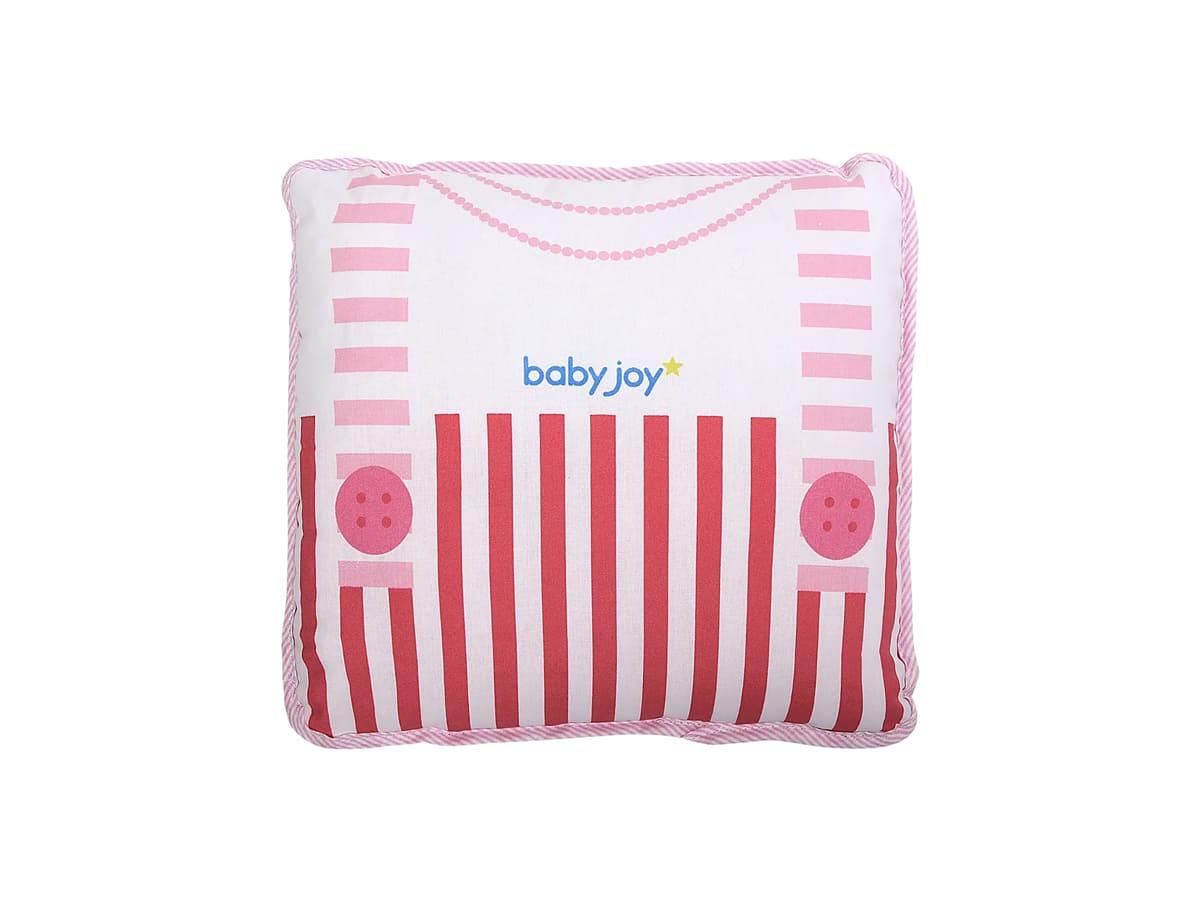 Almofada Preciosa Dados Nascimento Rosa- Menina