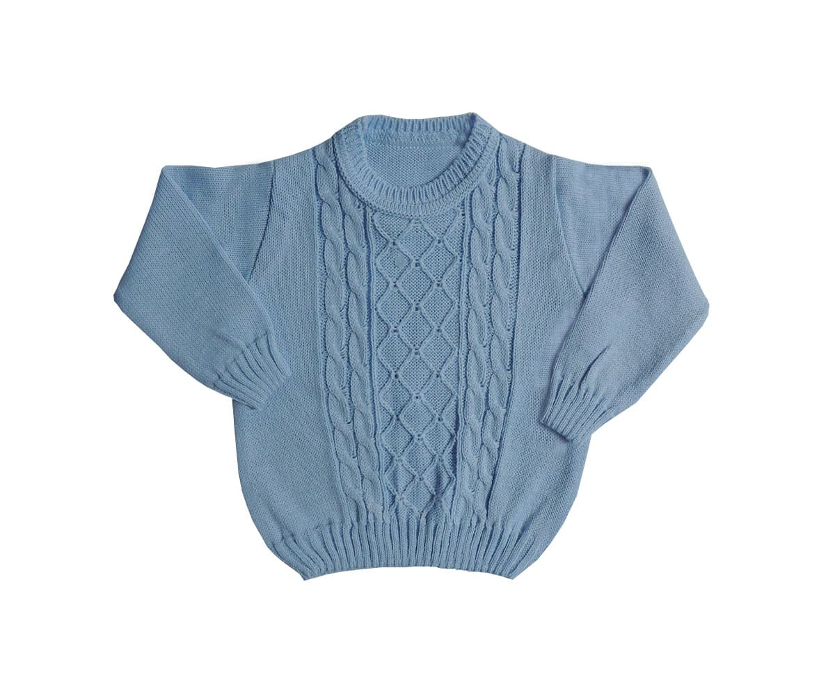 Blusa de tricot Para Bebê Masculino