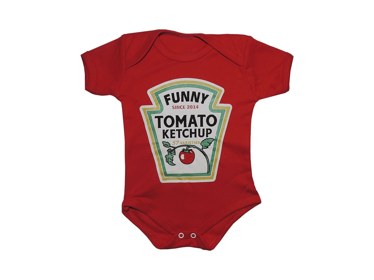 Body Bebê Ketchup Funny