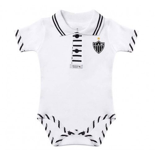 Body Bebê Manga Curta Polo Menino Atlético MG