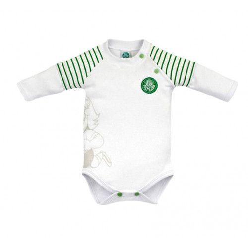Body Bebê Palmeiras Manga Longa Unissex