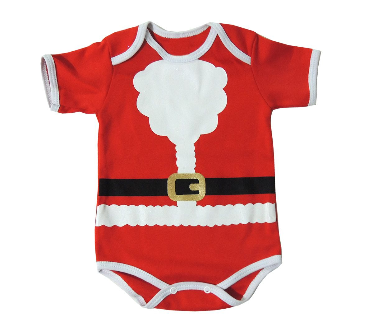 Body Bebê Papai Noel