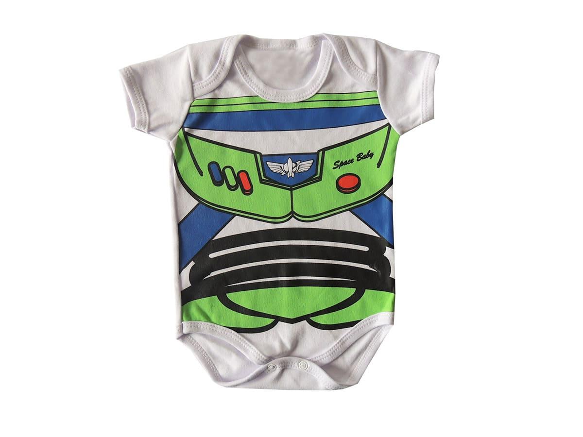 Body Bebê Personagem Buzz Lightyear