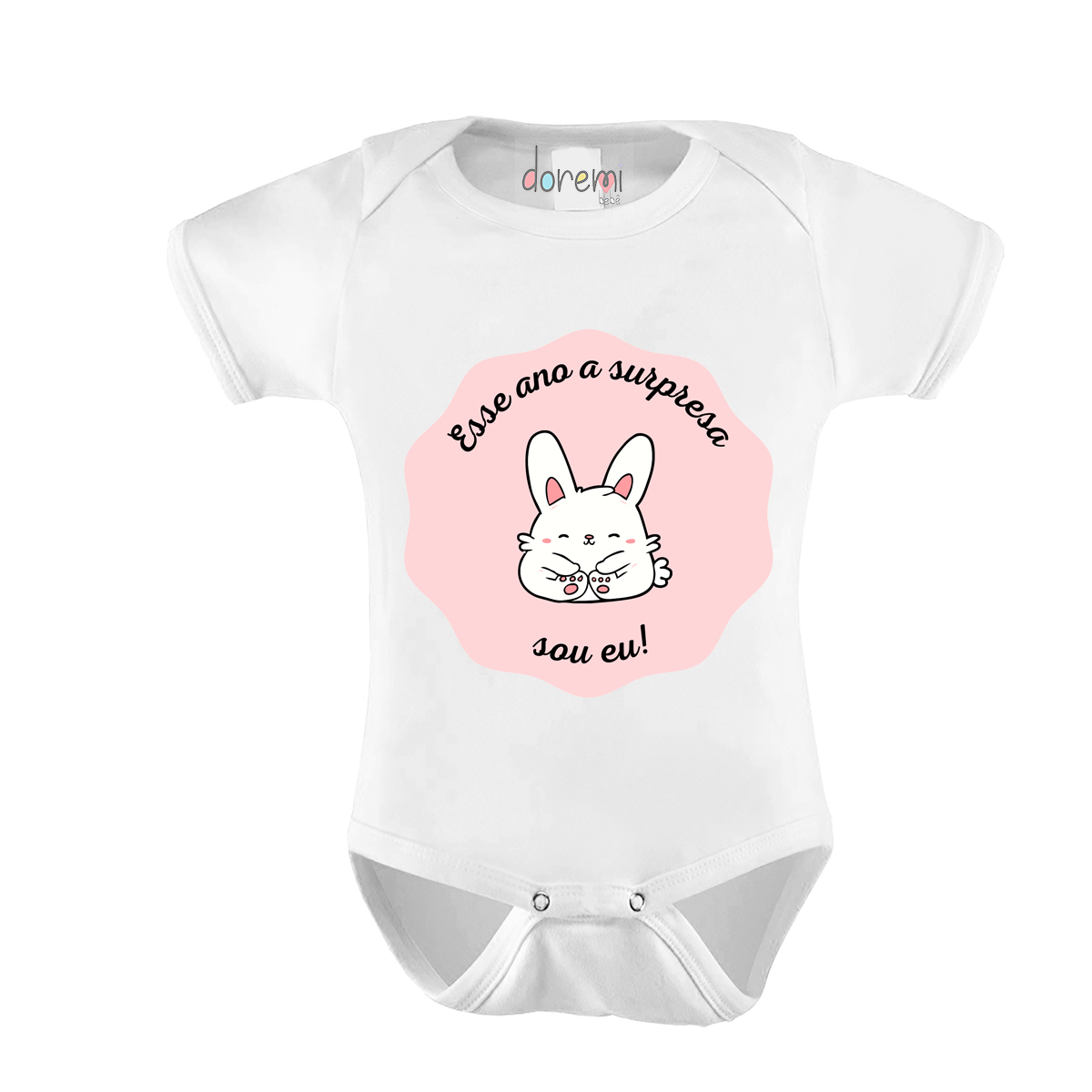 Body Bebê personalizado - A Surpresa Sou Eu