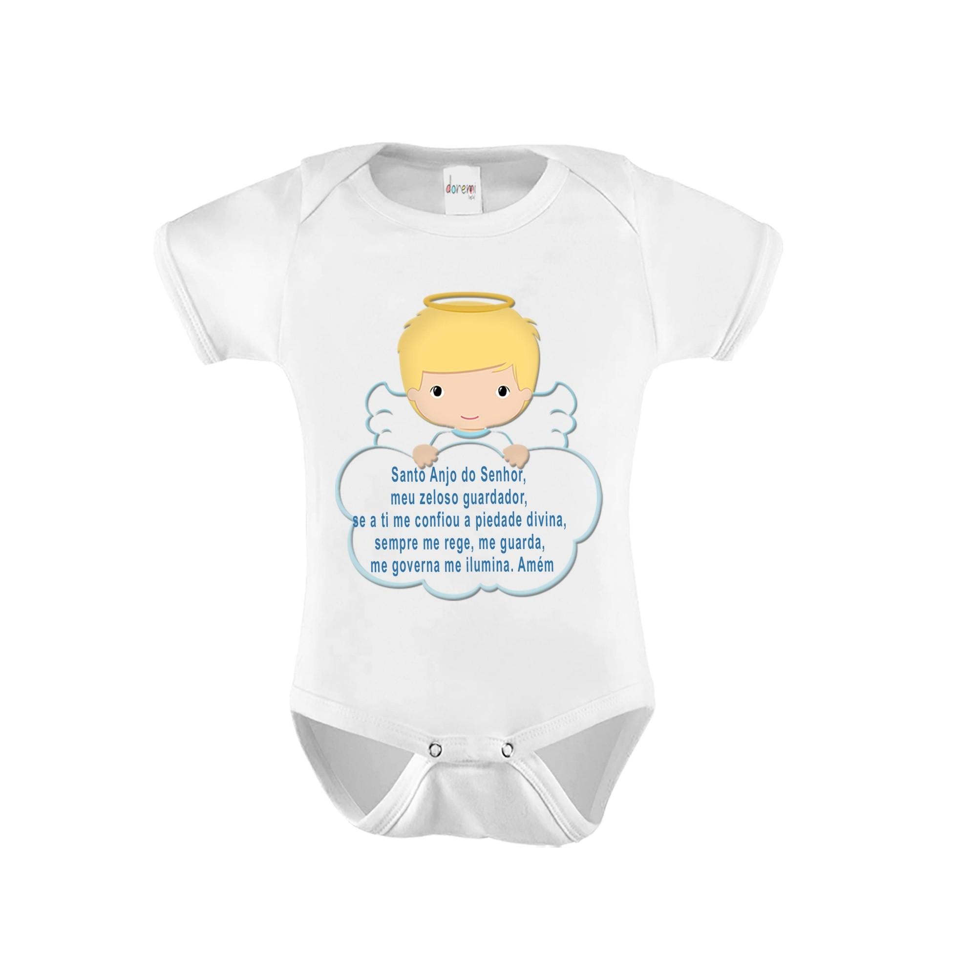 Body Bebê personalizado - Anjo da Guarda