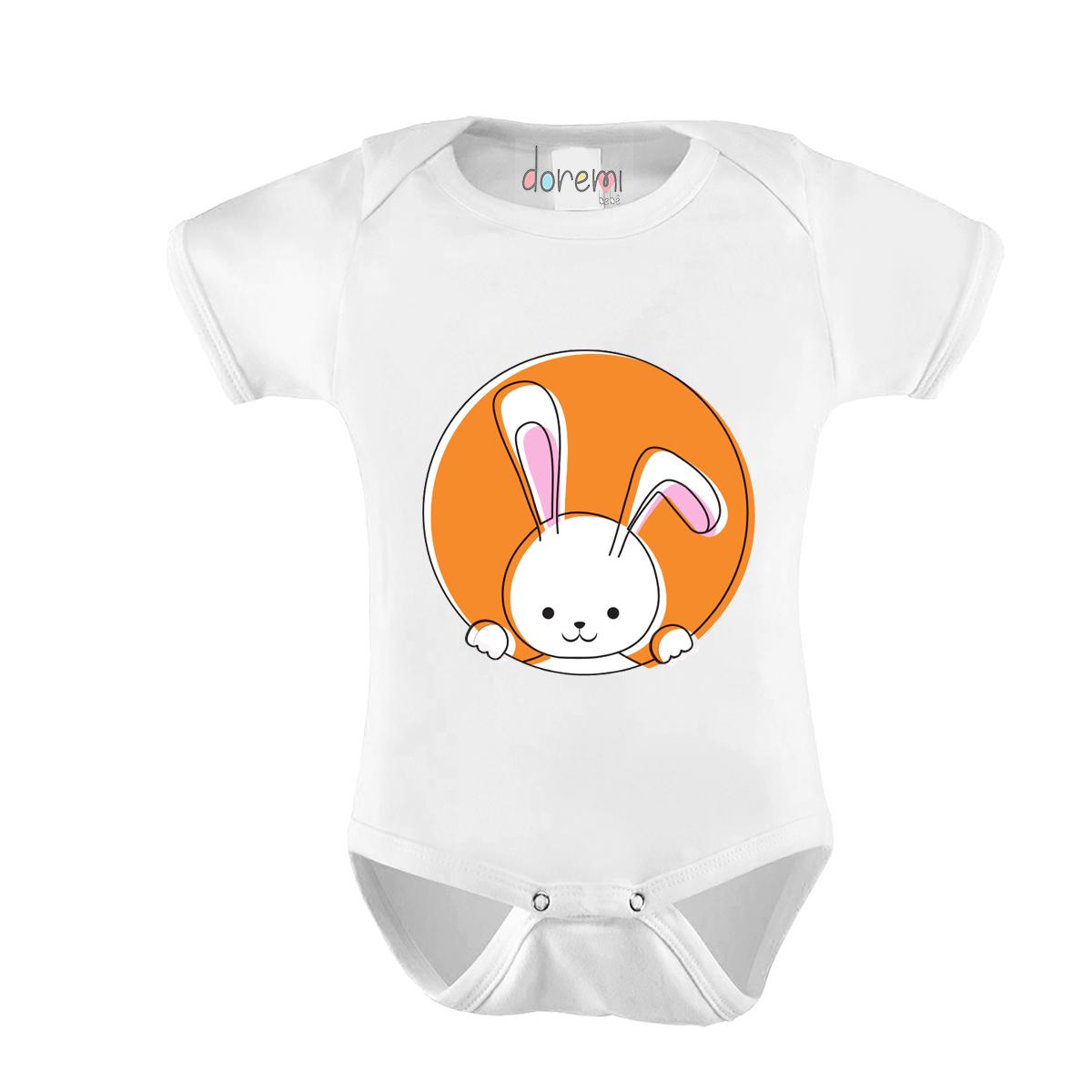 Body Bebê personalizado - Coelhinho