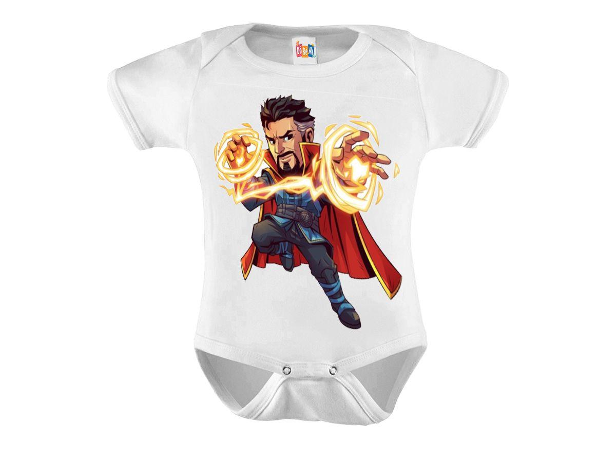 Body Bebê Personalizado Dr Estranho