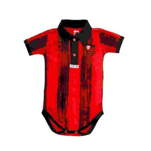 Body Flamengo com Listras Manga Curta - Revedor