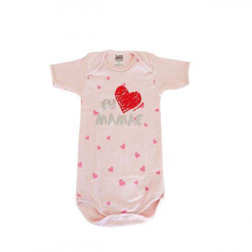 Body Infantil EU AMO MAMÃE - Bebê Brincalhão