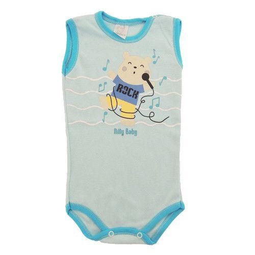 Body Infantil Menino Regata Urso Cantor