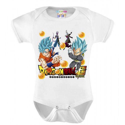 Body Infantil Personalizado Dragon Ball