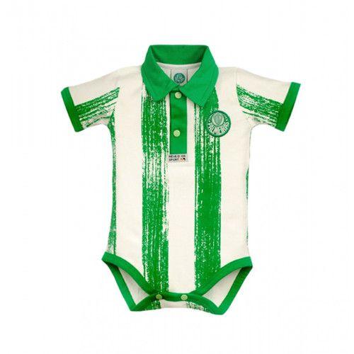 Body Palmeiras com Listras Manga Curta - Revedor 1df3d16764f
