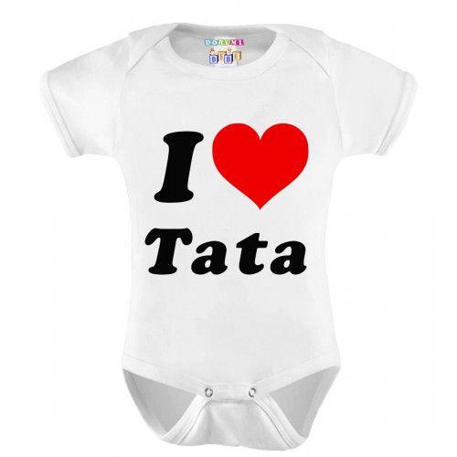 Body Personalizado Bebê M/C Eu Amo a Tata - Do Re Mi Bebê