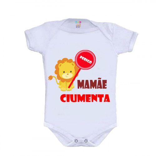 Body Personalizado Bebê M/C Mamãe Ciumenta - Doremibebê