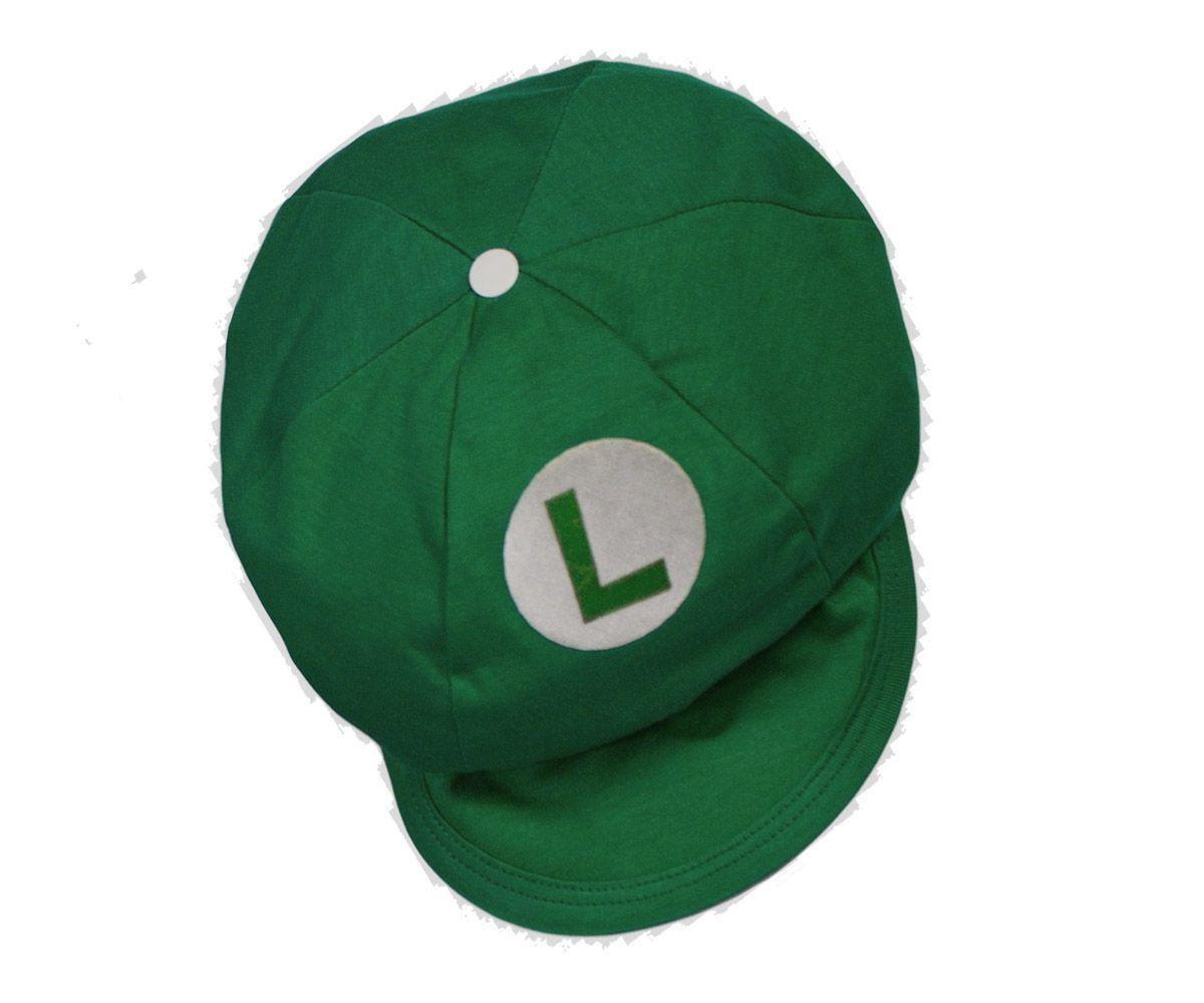 Boina Bebê Luigi
