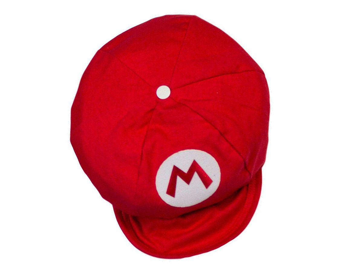 Boina Bebê Mario Bros