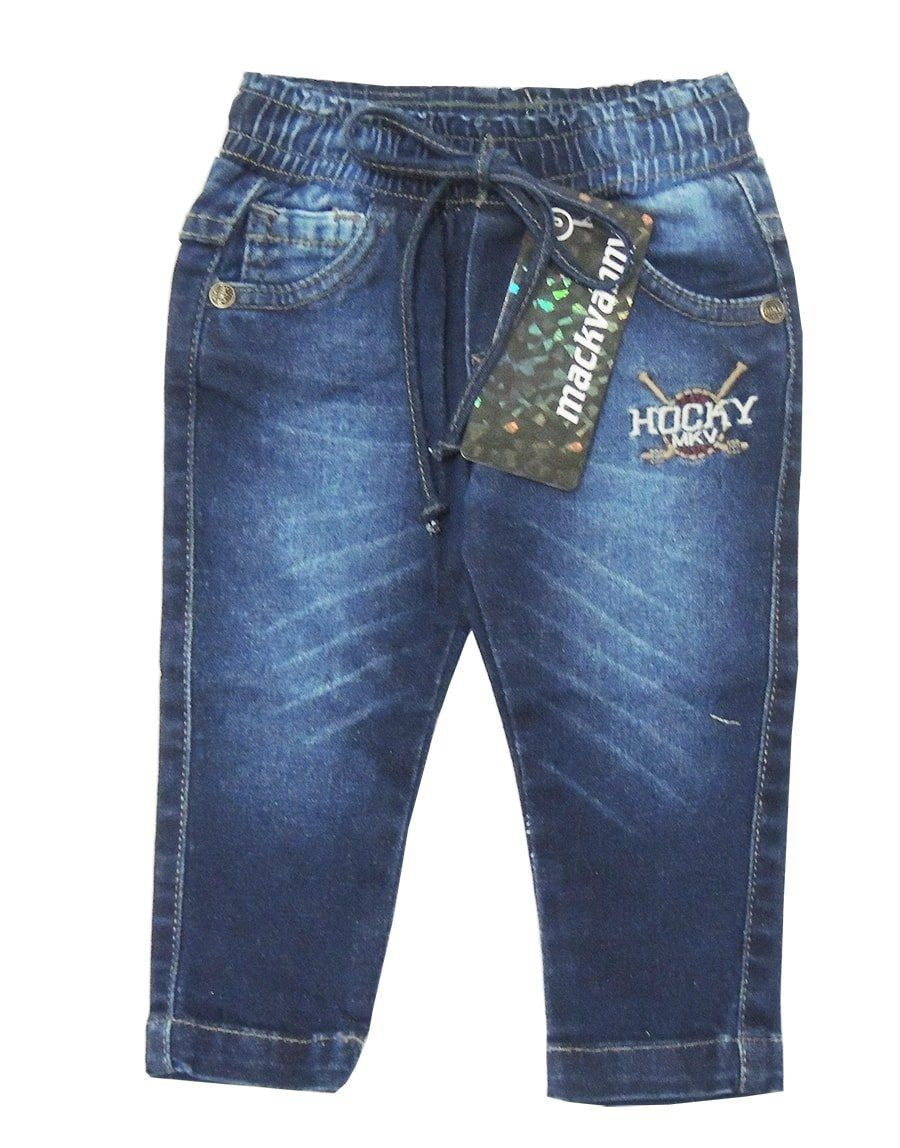 Calça Jeans Bebê Menino Azul Mackvanny
