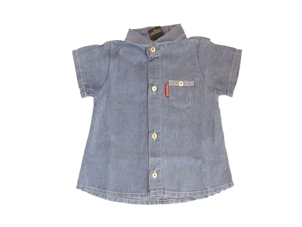 Camisa Bebê Menina Lurex Manga Curta - Tam P ao G
