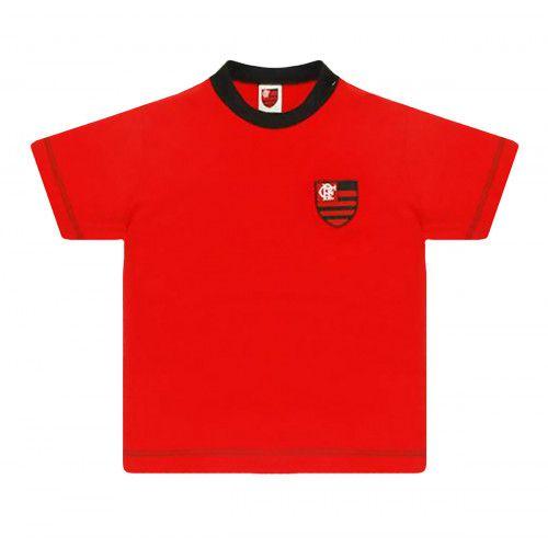 Camiseta do Flamengo Baby Look Infantil Oficial