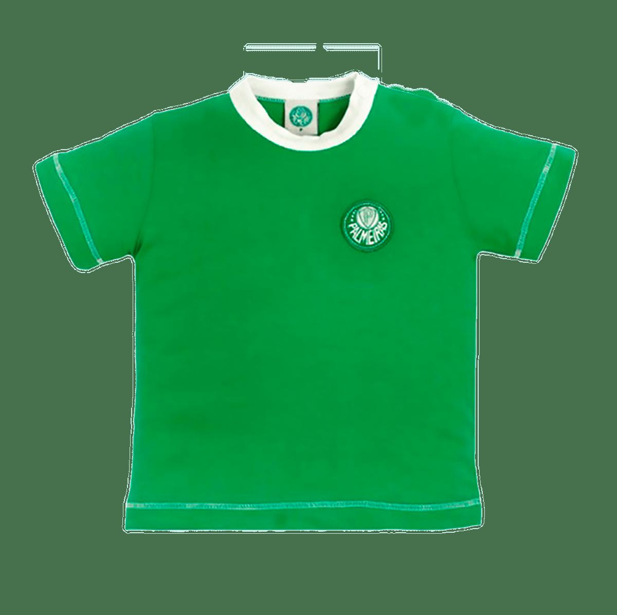 Camiseta do Palmeiras Baby Look Infantil Oficial