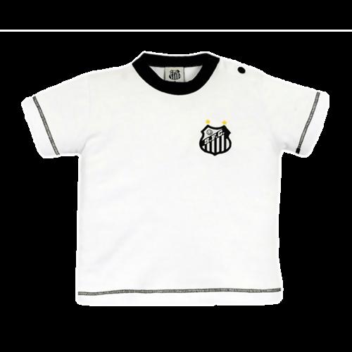 Camiseta do Santos Baby Look Infantil Oficial