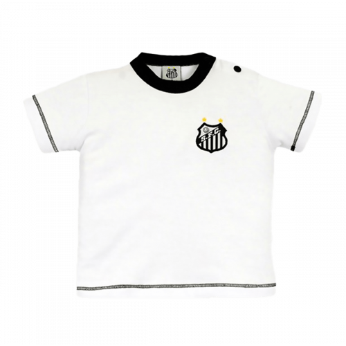 Camiseta do Santos Baby Look Infantil Oficial