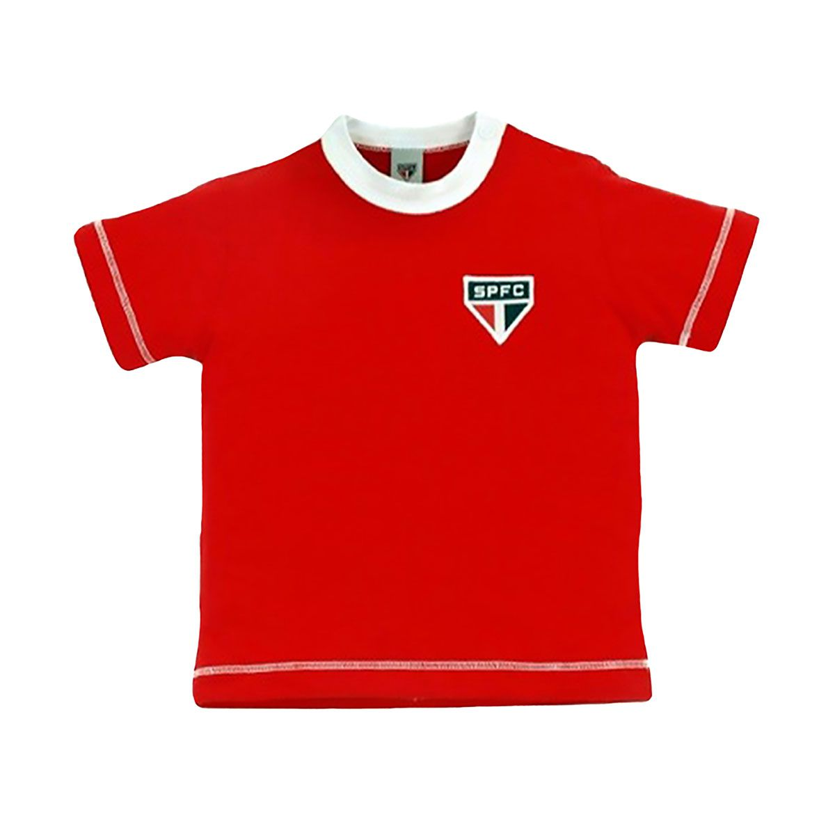 Camiseta do São Paulo Baby Look Infantil Oficial
