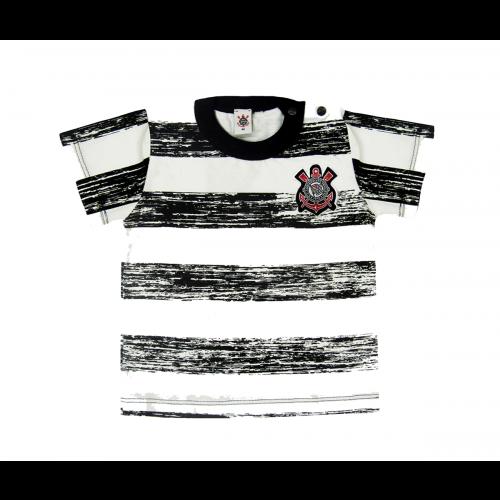 Camiseta Infantil Corinthians Listrada Oficial