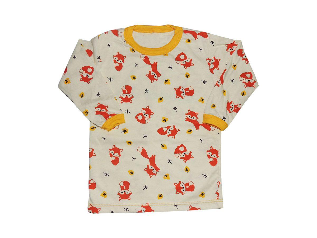 Camiseta Infantil em Malha Raposa