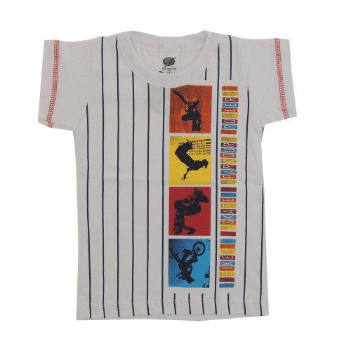 Camiseta Infantil Esporte Radical Menino