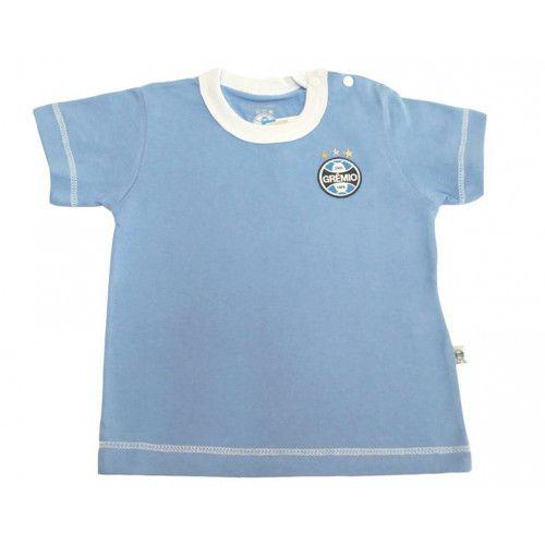 Camiseta Meia Malha Bebê Menino Grêmio