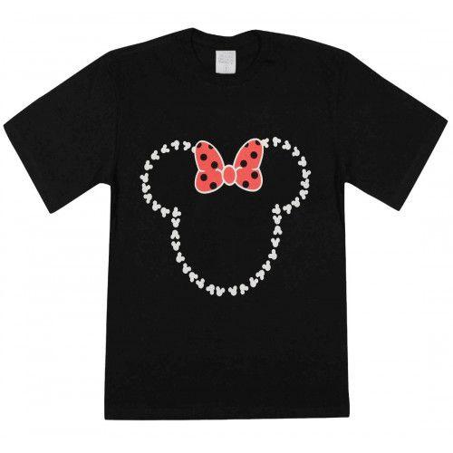 Camiseta Minie Infantil Feminina