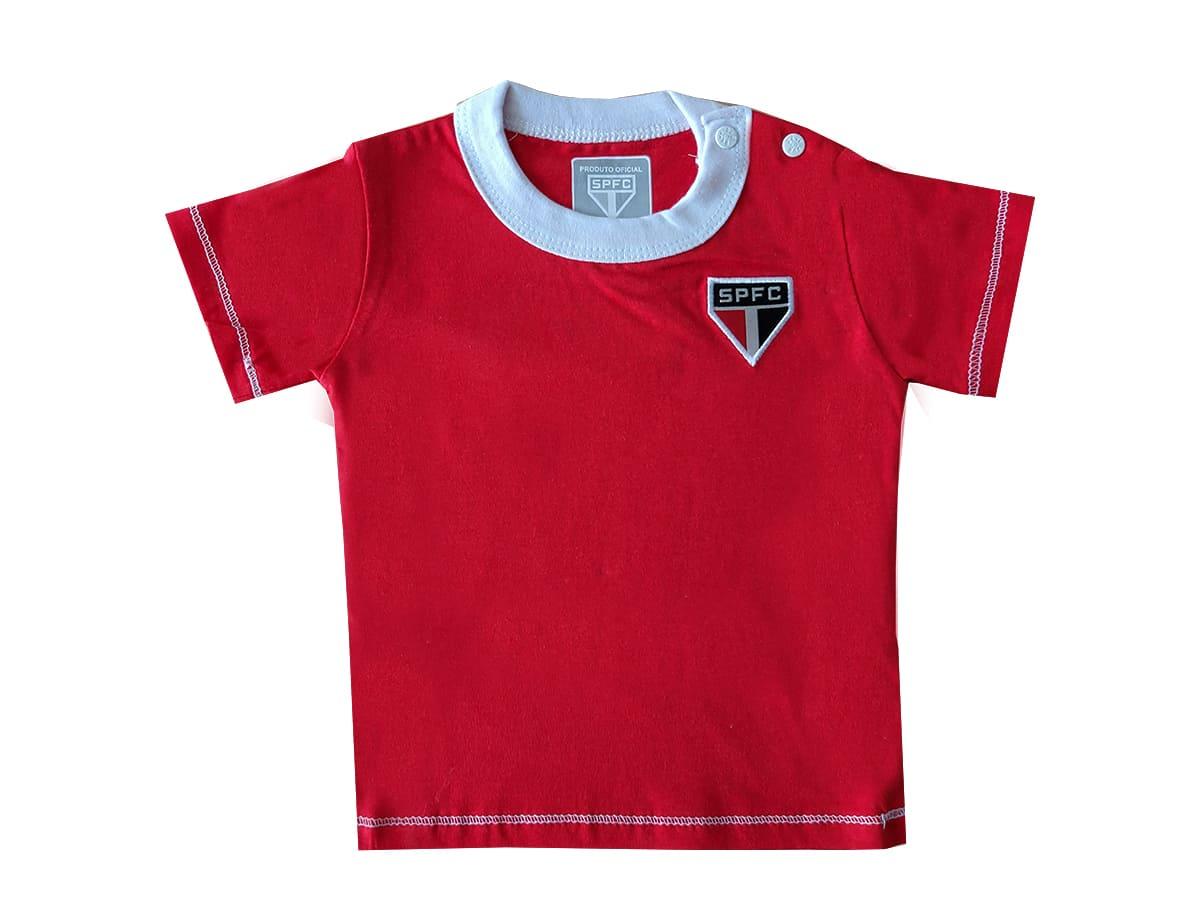 Camiseta Para Bebê do São Paulo