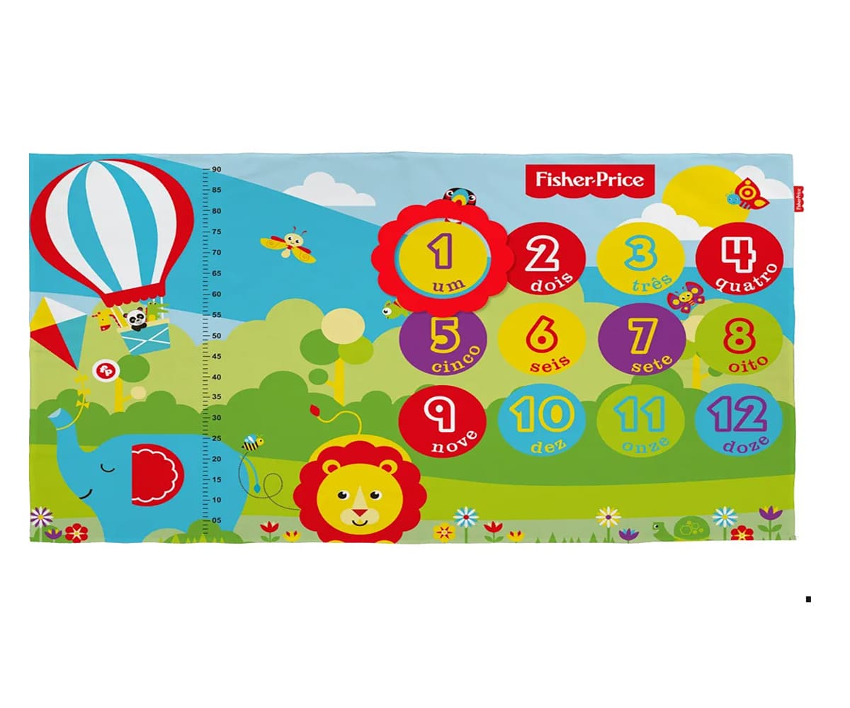 Cenario Mesversario Fisher Price Unissex