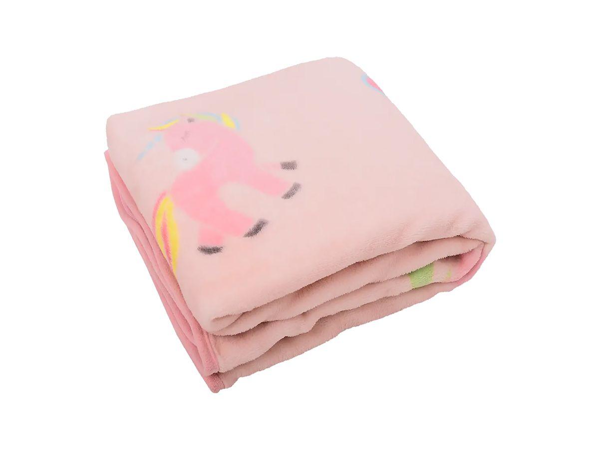 Cobertor Infantil Unicórnio Microfibra Soft