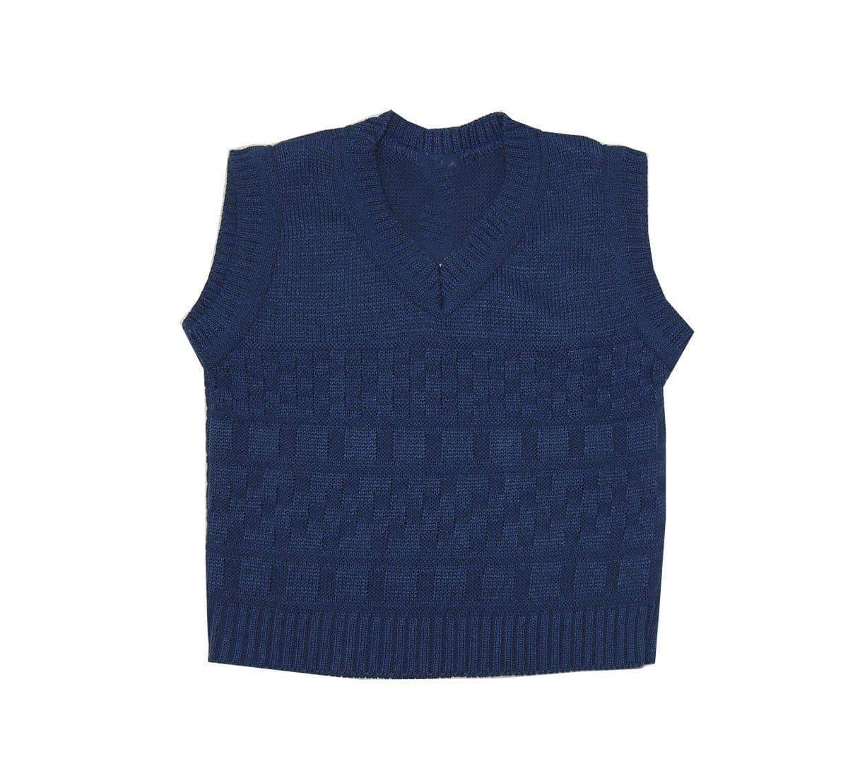 Colete de Lã em Tricot Infantil Masculino