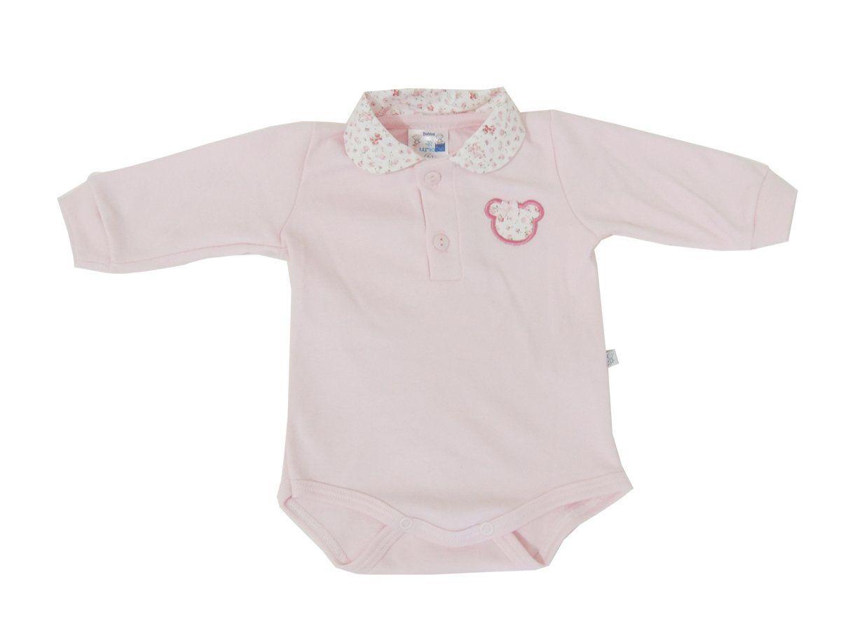 Conjunto Bebê Body Bordado e Calça Suedine - Curioso