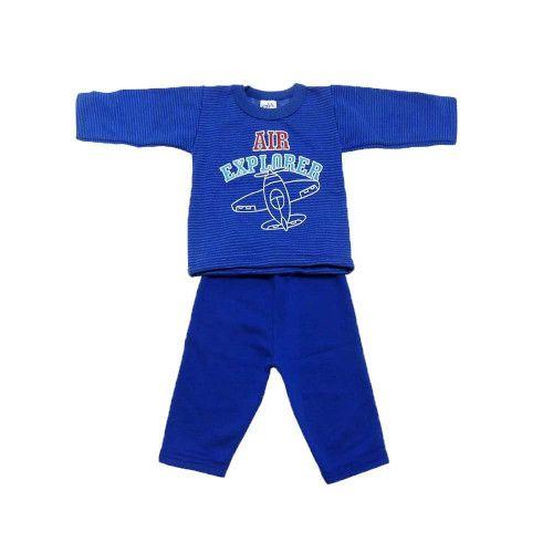 Conjunto Bebê Masculino Blusa e calça