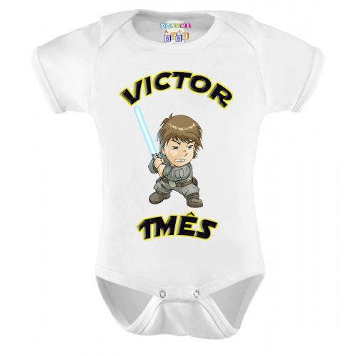 Kit 12 Bodys Mesversário Star Wars - Doremi Bebê