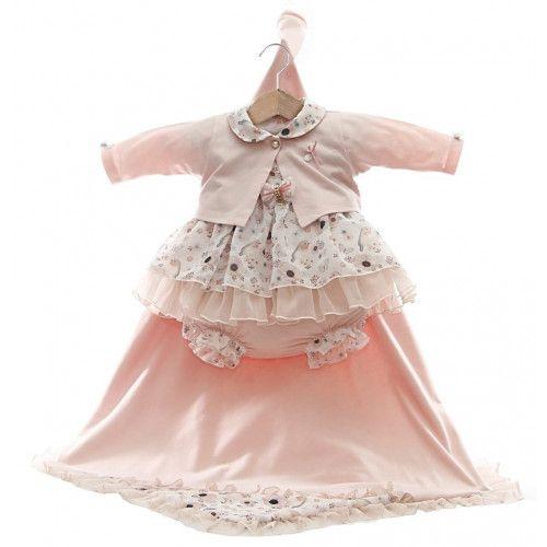 Kit Saída Maternidade Sarah - Pink