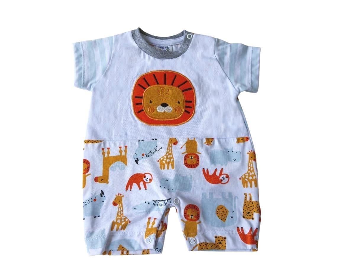 Macacão Banho de Sol Infantil Leãozinho