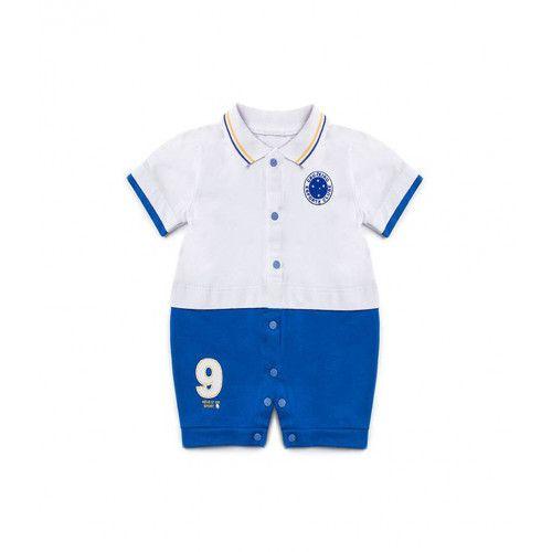 Macacão Bebê Menino Uniforme Cruzeiro