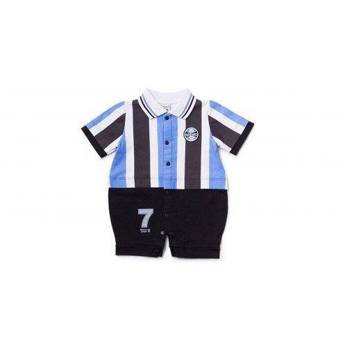 Macacão Bebê Menino Uniforme Grêmio