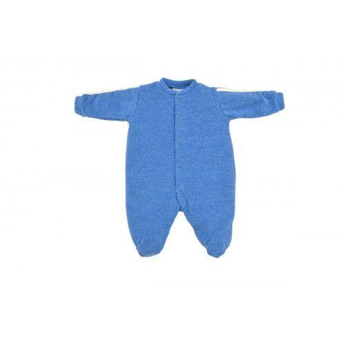 Macacão Infantil Soft Azul Safira Menino