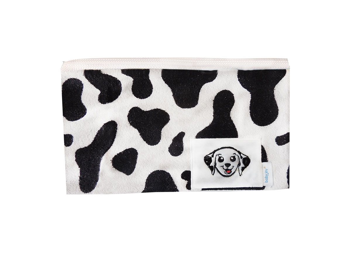 Necessaire Estampada com Bordado Cachorrinho