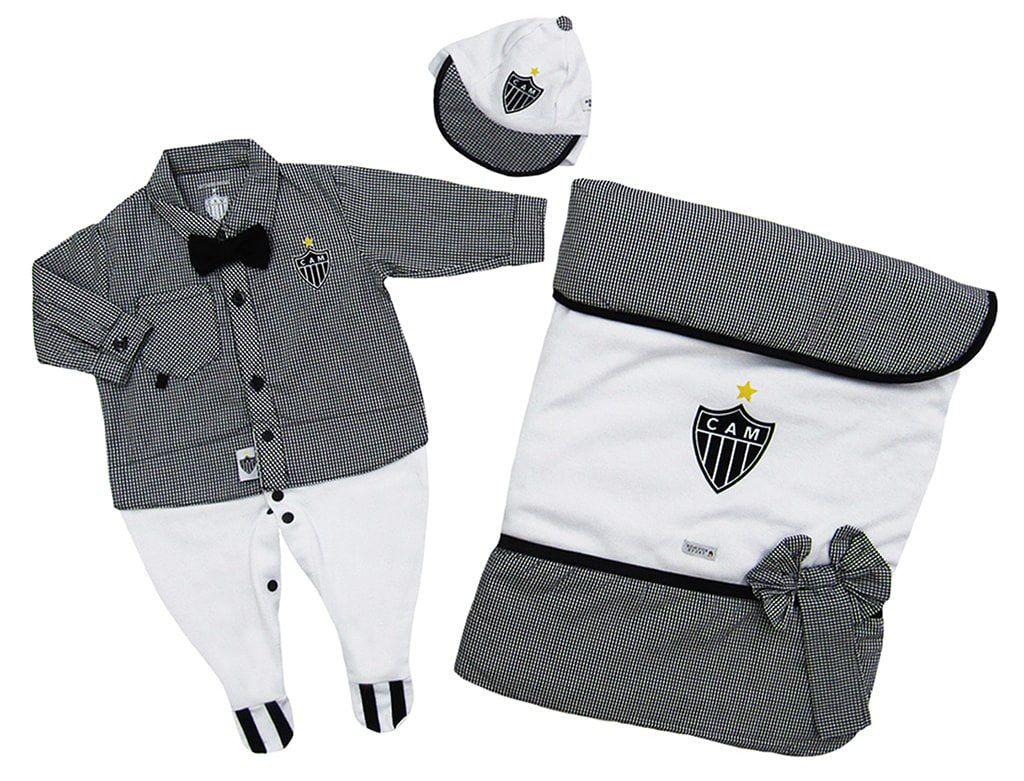 Saída Maternidade Atlético MG Luxo Menino
