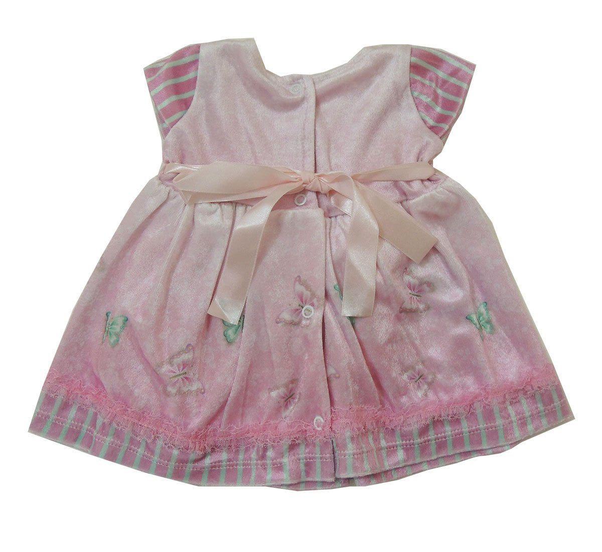 Saida Maternidade em Plush com Vestido de Borboletas