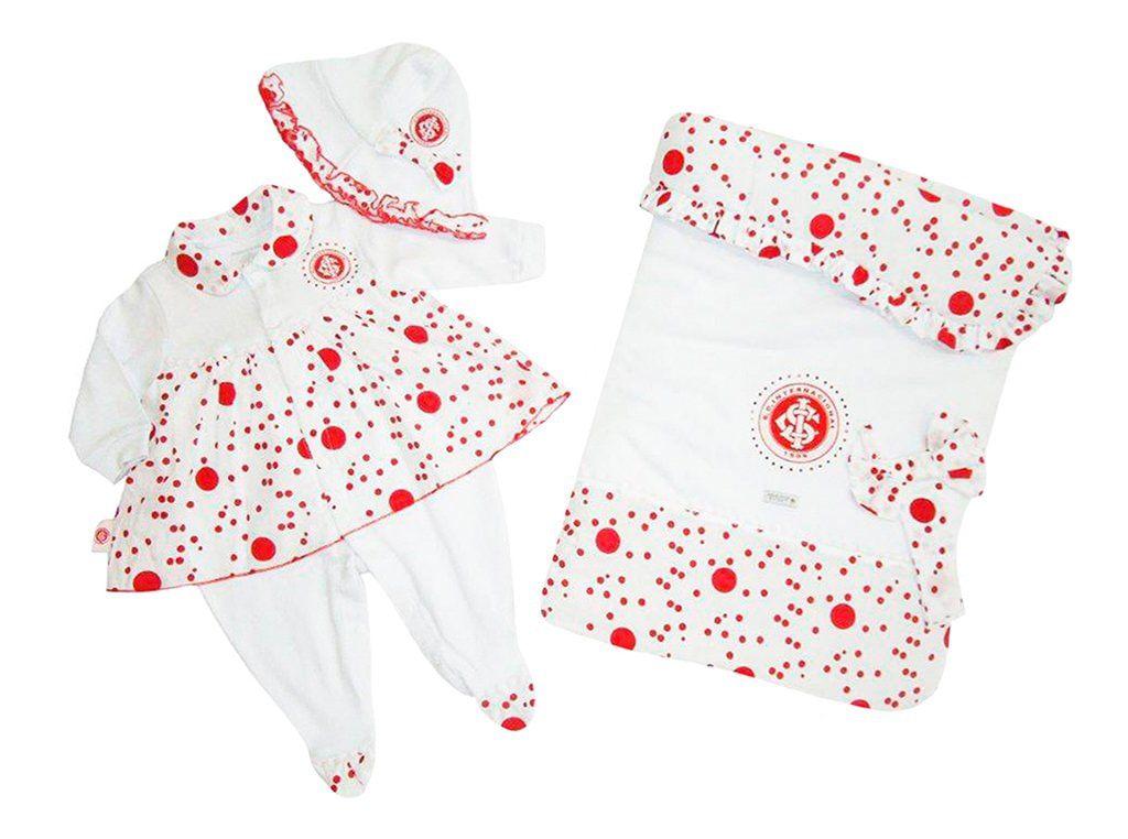 Saída Maternidade Menina Luxo do Internacional