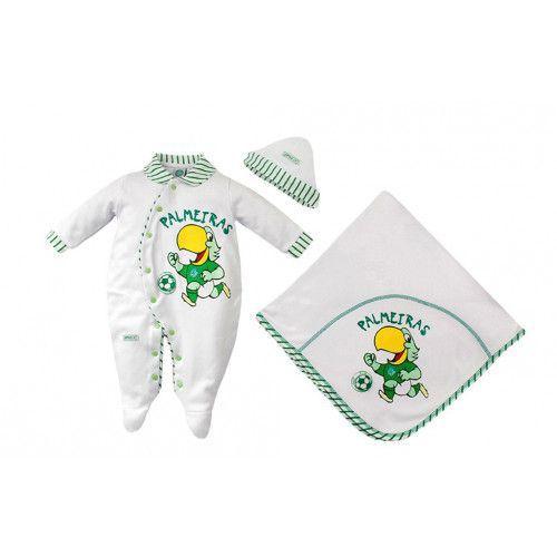 Saída Maternidade Palmeiras Suedine Unissex