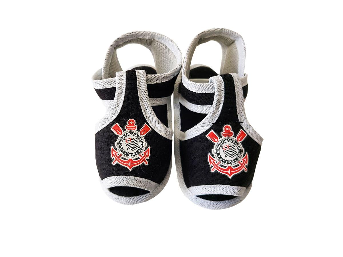 Sandália de Bebê Corinthians - Licenciado